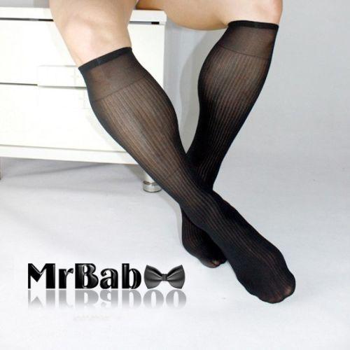 c63be69b9e2 4Pairs-Lot-Mens-Sheer-Socks-Mens-Crew-Dress-Socks-Business-Men-Thin-Suit- Socks