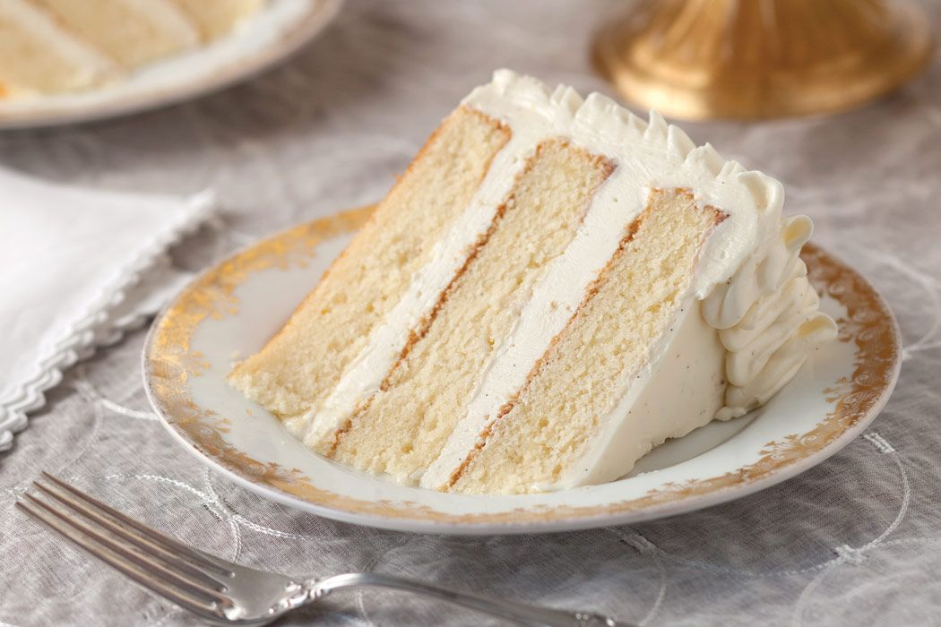 Sour Cream Cake With Whipped Vanilla Frosting Recipe Cake Recipes Sour Cream Cake Whipped Vanilla Frosting Recipe