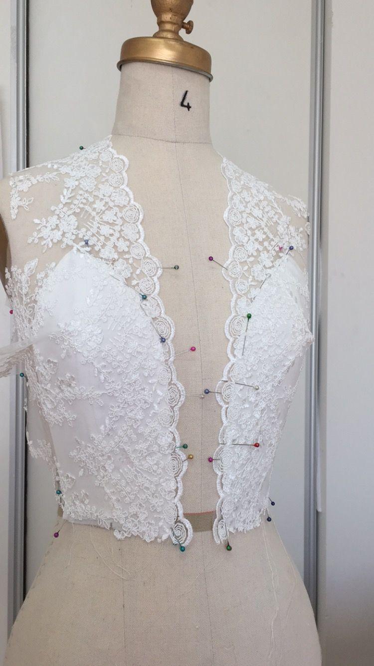 Tea length wedding dress patterns to sew  Bridal lace overlay  dress ideas  Pinterest  Bridal lace Lace
