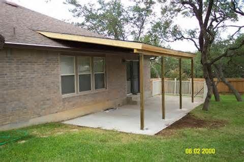 Build A Simple Patio Cover Yahoo