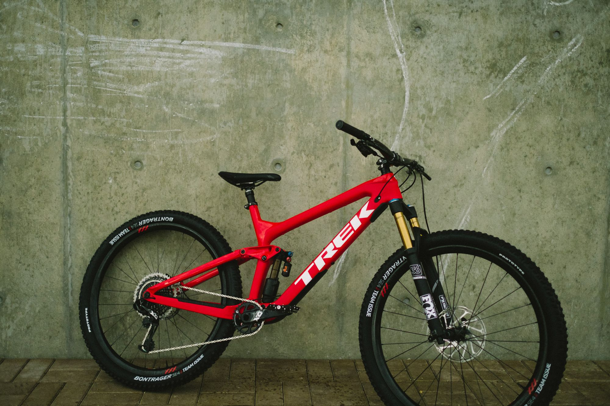Trek MTB in beautiful red color | Bike Passion | Pinterest