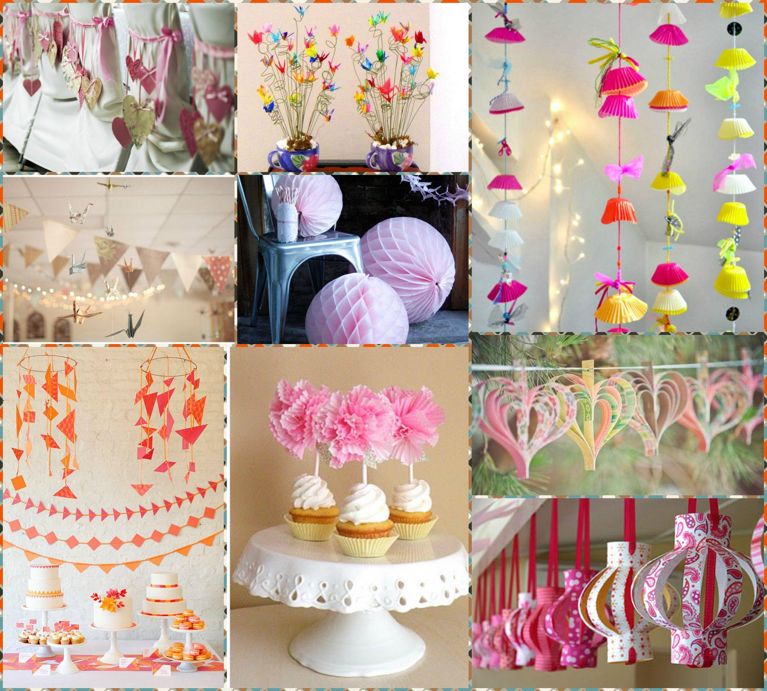 Resultado de imagen para decoraciones para salones for Decoracion con papel