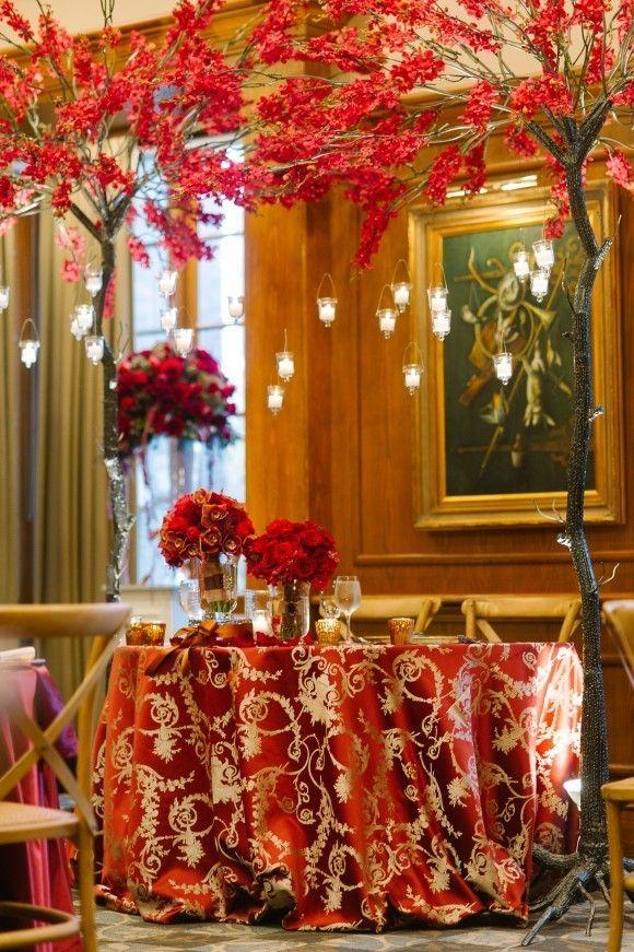 Red Gold Sherlock Holmes Wedding In Notl Do Real Wedding Same