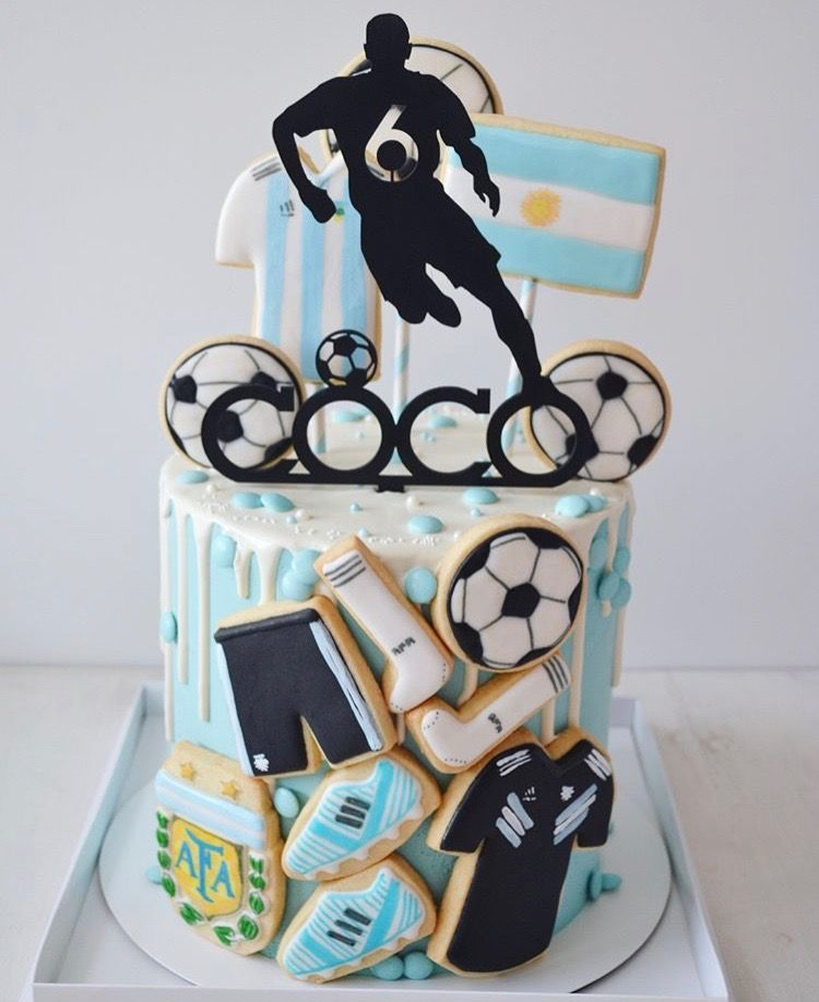Tortas Para Hombres Soccer Cake Cake Birthday Party