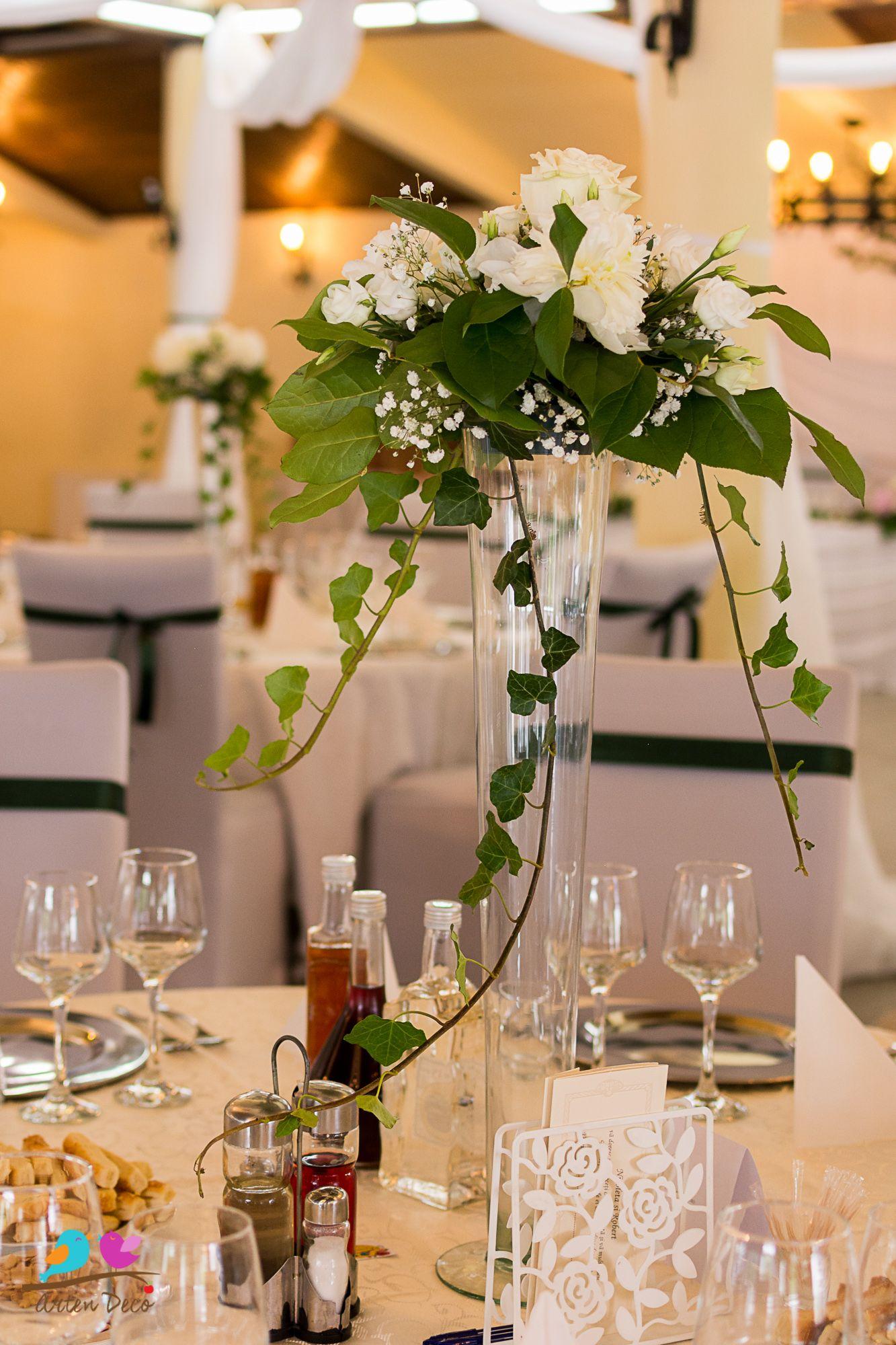 Aranjamente Florale Decoratiuni Florale Nunta Aranjament Floral