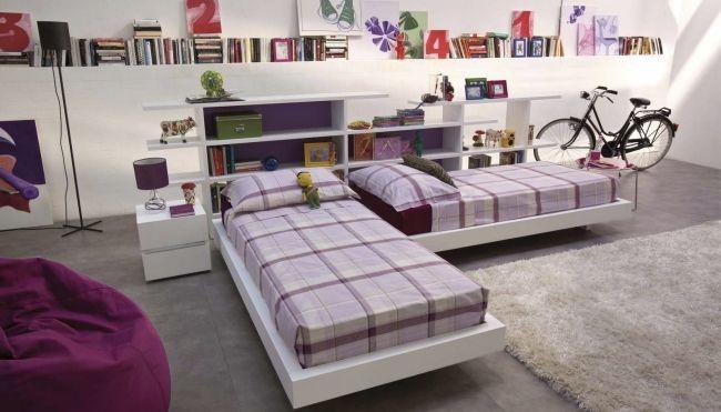 Lever eckbetten jugendzimmer bettw sche pinuccio borgonovo for Jugendzimmer modern design