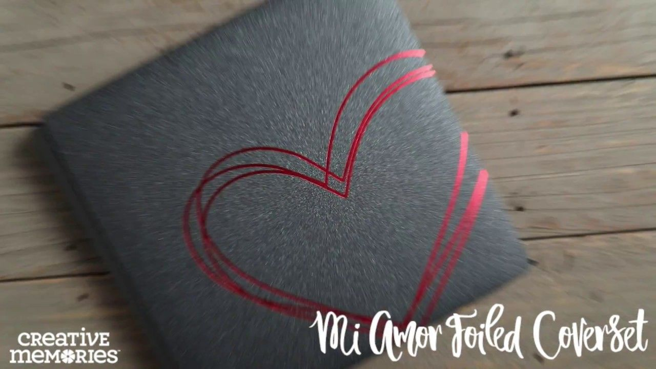 Mi Amor Foiled Coverset by Creative Memories | Celebrate