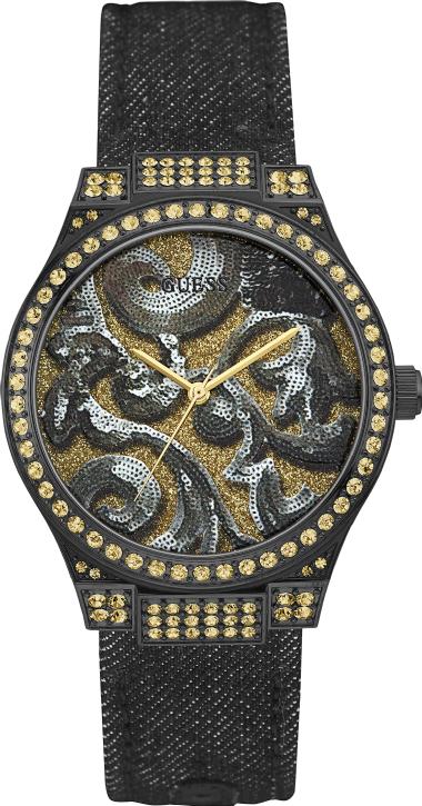de6cb484a4a 92615LPGSPC1 Relógio Feminino Guess Analógico com Pulseira Jeans ...