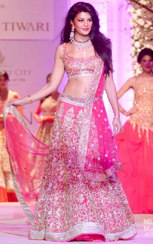 10 Beautiful Wedding Sleeveless Lehengas | Pinterest | Jacqueline ...