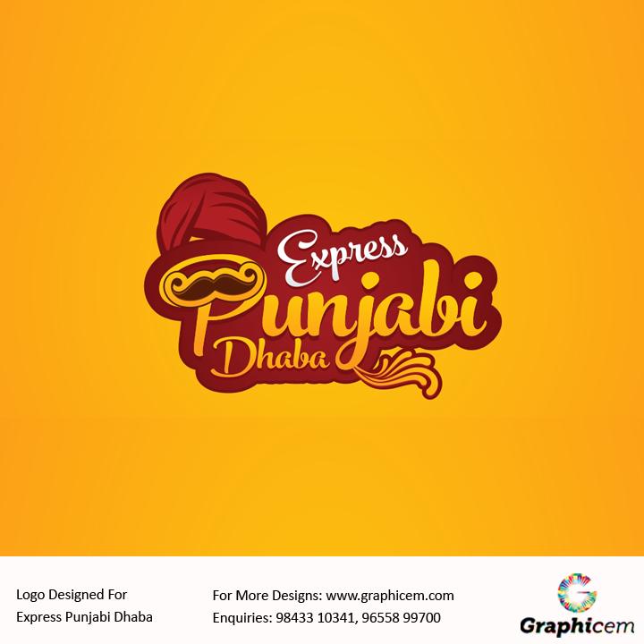 Logo Designed For Express Punjabi Dhaba Logo Pinterest