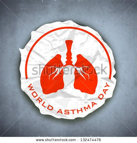 World Asthma Day Background With Lungs By Allies Interactive Via Shutterstock Asthma Day World