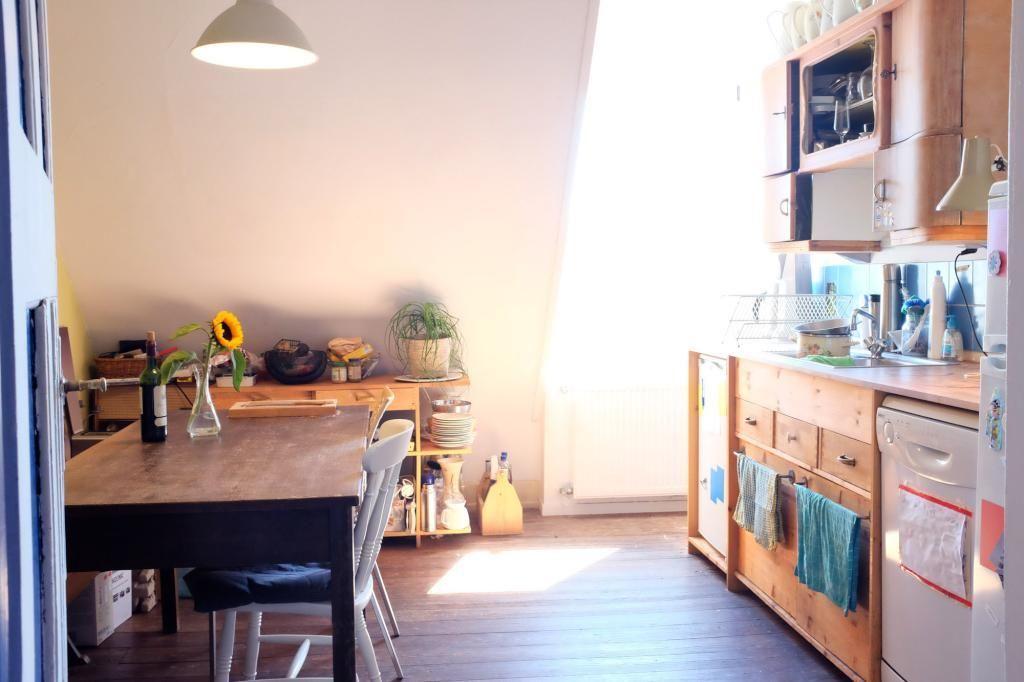 Gemütliche Küchenaussicht in WG in Karlsruhe. Voll ausgestattete ...