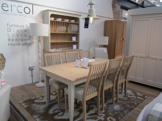 Ercols Painted Pinto Dining Collection On Display In The New Barker Stonehouse Store