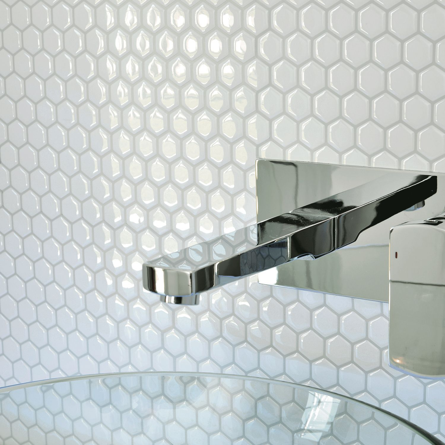 Peel and stick bathroom tiles | Smart Tiles | Bathroom | Pinterest ...