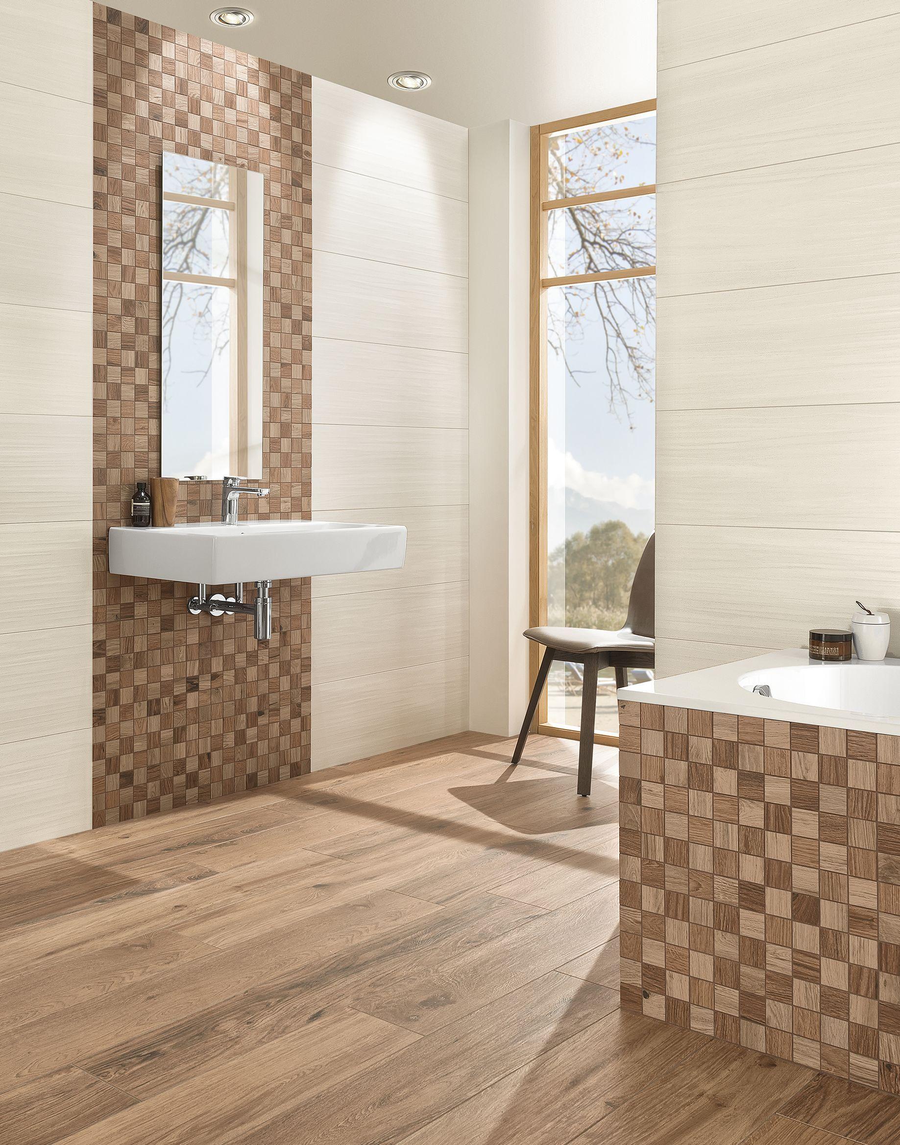Holzfliesen fürs Bad