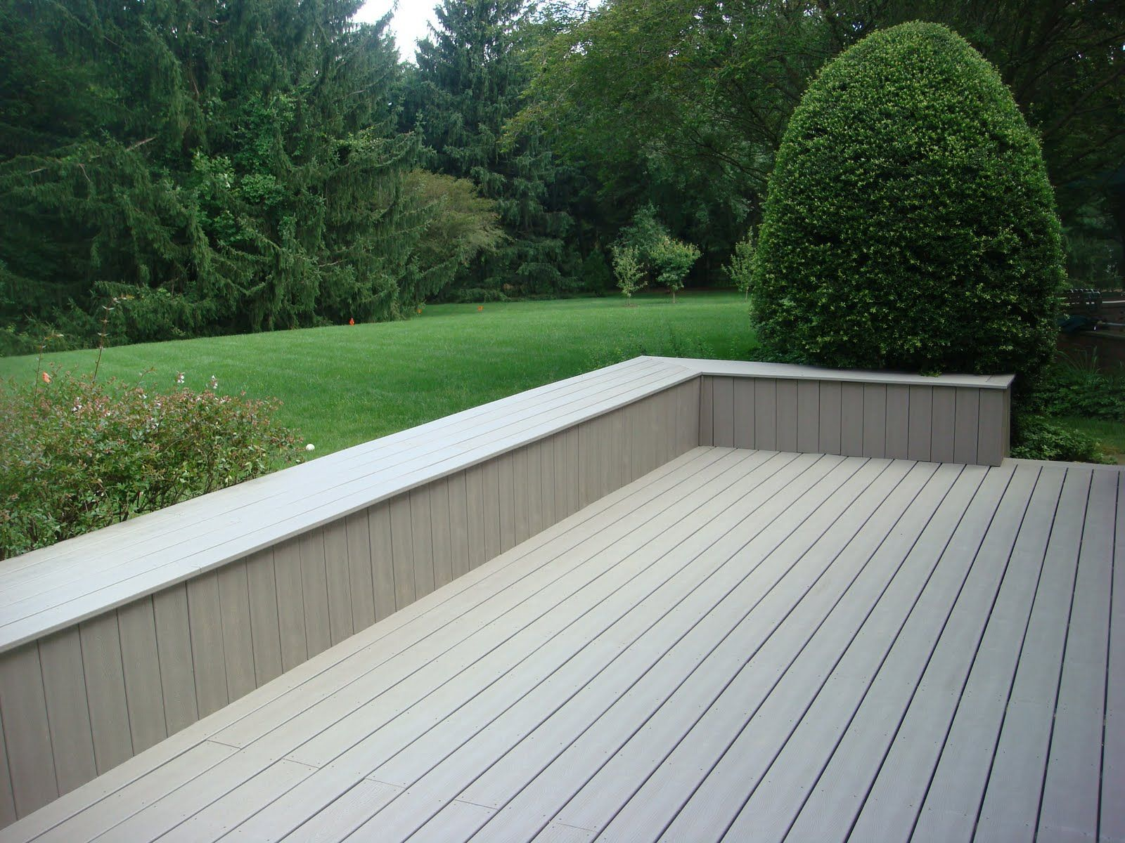 Nice Composite Decking Veranda Colors With Stylish Slate