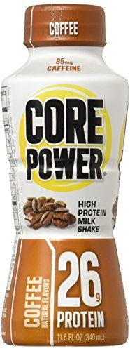 Core Power By Fairlife High Protein 26g Milk Shake Coffee 115ounce Bottles 12 Count Check Out This Great Product This I Protein Mix Healthy Drinks Fairlife