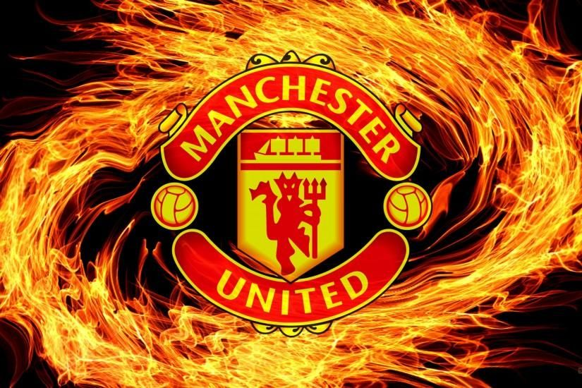 Most Good Looking Manchester United Wallpapers Hd Wallpaper Manchester United wallpaper with fire