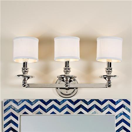 Inspirational Vanity Light Bar Shade