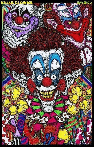 Velocitee Ladies Wicked Jester T-Shirt Skull Clown Horror Evil Biker A11513