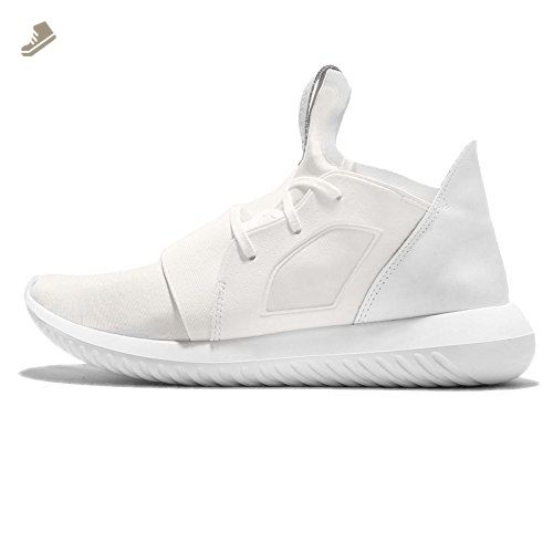 adidas Women\u0027s Tubular Defiant W, WHITE/WHITE, 8.5 US - Adidas sneakers for