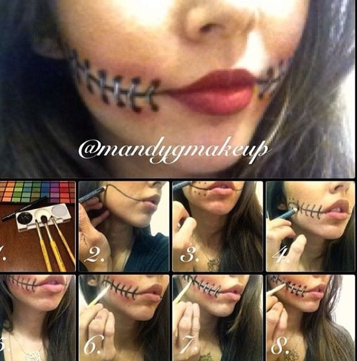 Pin by sarah esborg on diy pinterest tattoo makeup want to take your halloween costume to the next level here are 15 creepy and scary halloween makeup tutorials that you can do yourself at home solutioingenieria Images