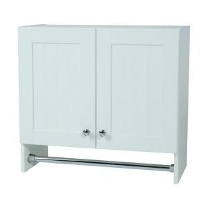 Best Glacier Bay 27 In W Laundry Wall Cabinet In Country 400 x 300