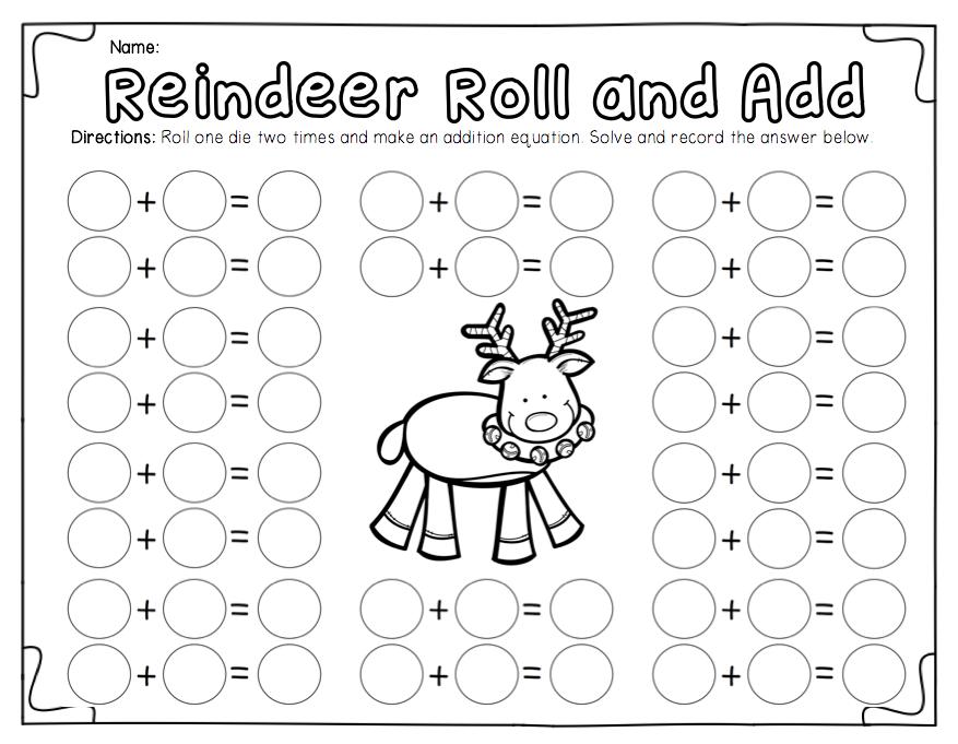 Ship Shape First Grade: The December Packet | Math | Pinterest ...