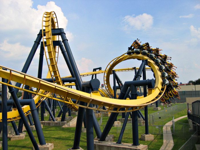 13 Amazing Texas Secrets You Never Knew Existed Six Flags Over Texas Theme Park Thrill Ride