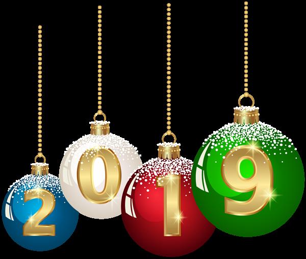 2019 Christmas Balls Png Clip Art Image Happy New Year Images Happy New Year Png New Year Images