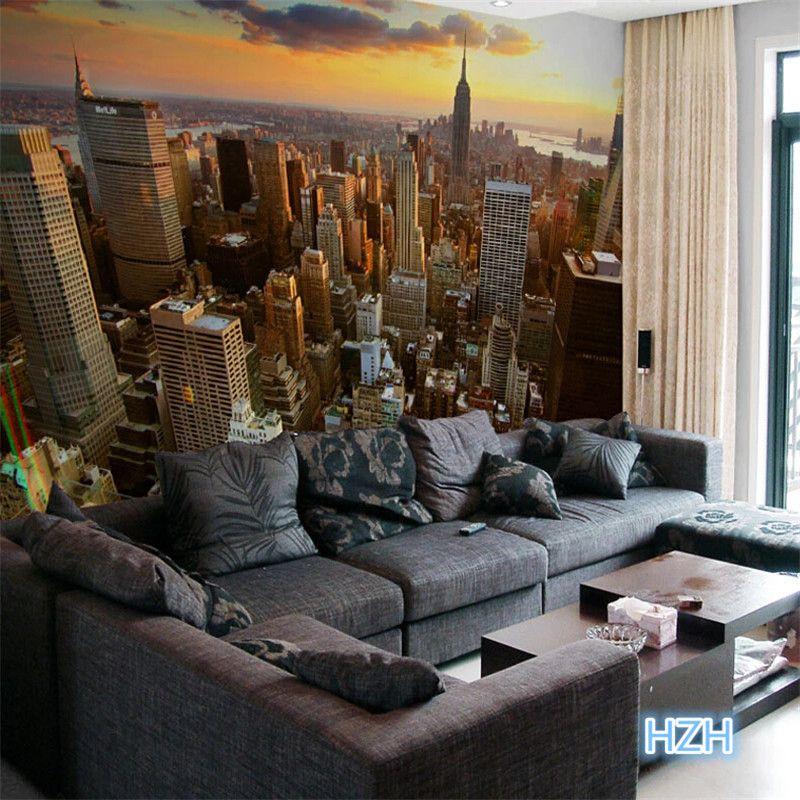 Imagen Relacionada Bedroom Wallpaper City 3d Wallpaper For Walls Wall Wallpaper