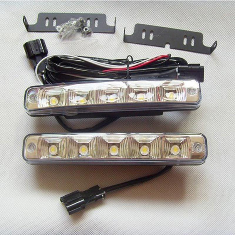10w Led Daytime Running Light Drl Car Fog Lights Headlamp 12v Universal Car Lights Lights Running Lights
