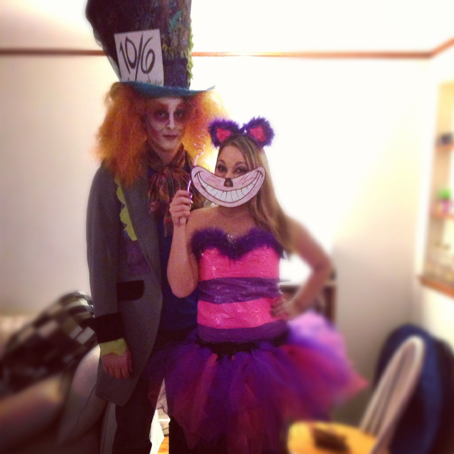 Really like this idea for the Cheshire cat & Really like this idea for the Cheshire cat | Halloween Makeup Ideas ...