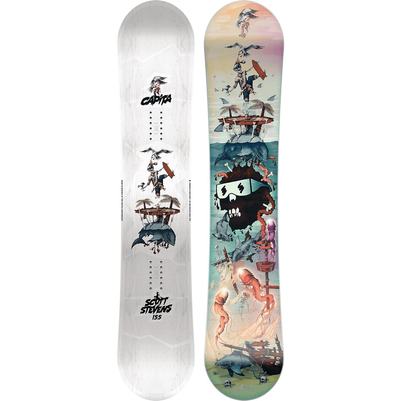Capita Scott Stevens Pro Snowboard Snowboard Pro Snowboarders Snowboarding