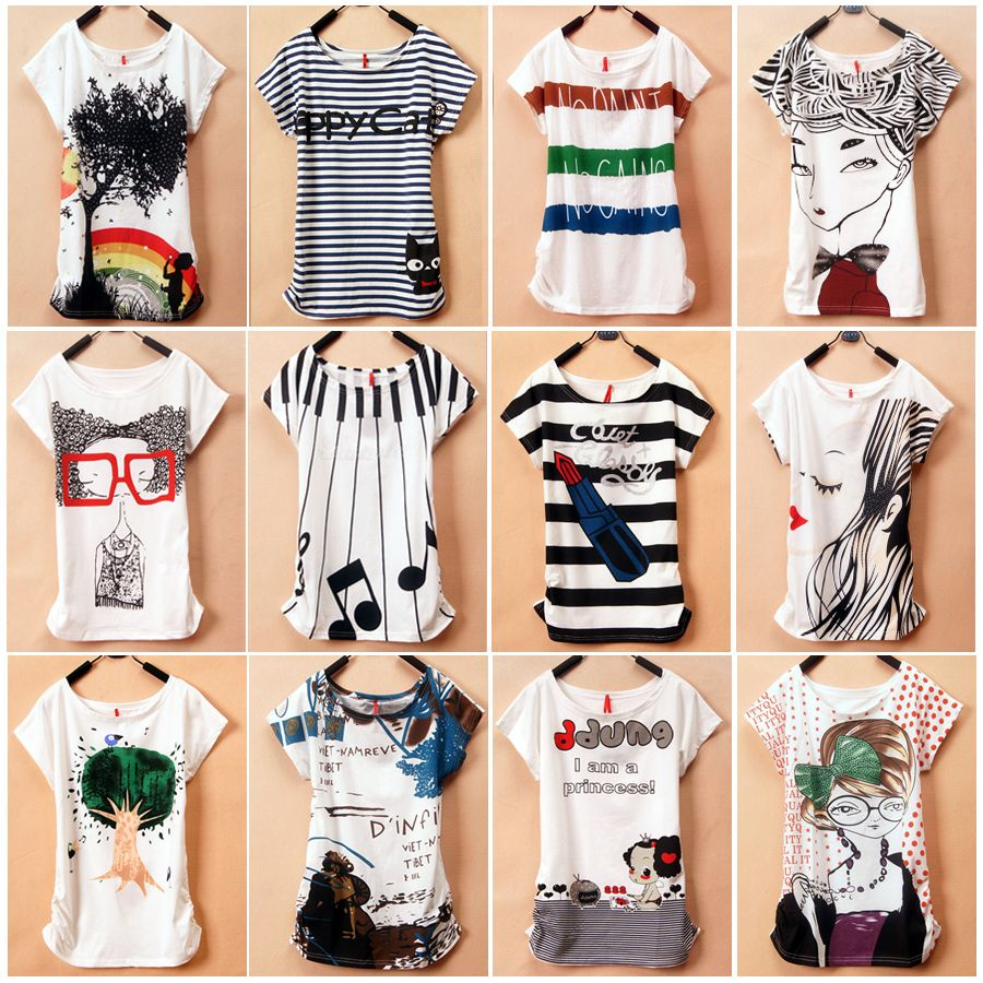 Online Get Cheap Graphic Tees for Juniors -Aliexpress.com ...