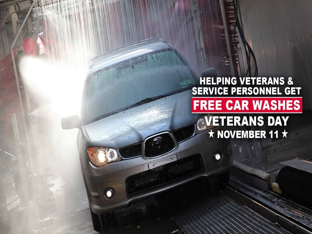 Grace For VetsFree Car Washes For Veterans On Veterans