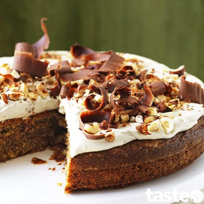 Coffee and hazelnut cake This gluten-free Coffee and Hazelnut Cake is deliciously good and will have you going back for seconds#glutenfree #cake #dessert