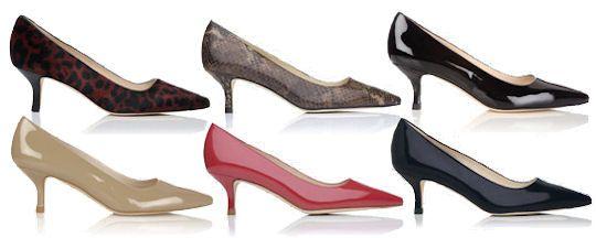 Lk Bennett Kitten Heel Shoes