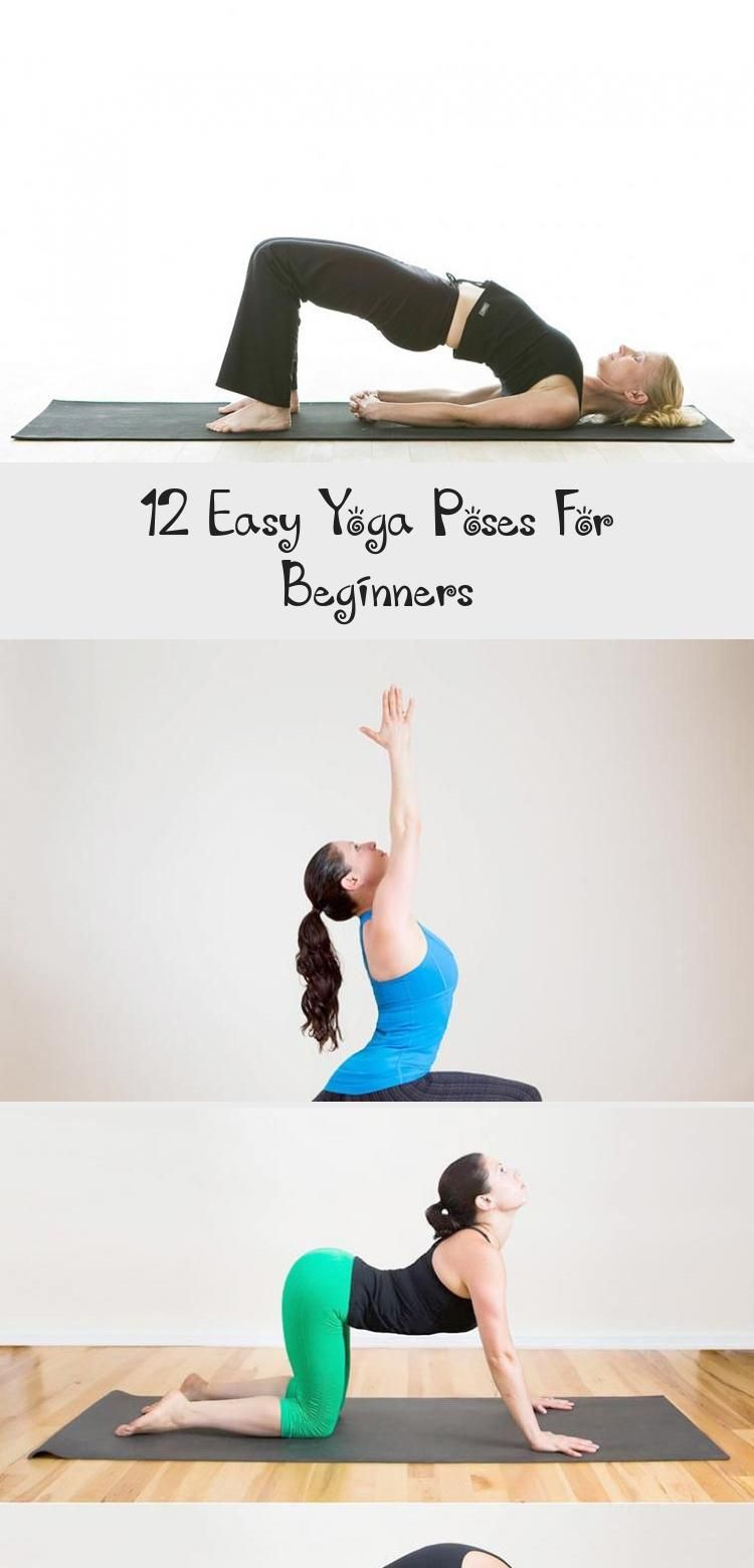 12 Easy Yoga Poses for Beginners! - Take some time at home to get to know the best yoga poses for be...