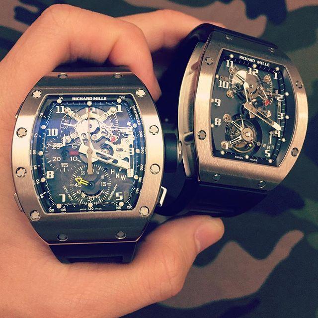 REPOST!!!  #richardmille #rm002 #rm004 #pmh_fanvn #watchdealer #watchporn #thebillionaireclub #independent #pythonhd #perfection #accessories #ablogofwatch #stinghd #style #ferrari #bugatti #pagani #lamborghini #rollsroyce #koenigsegg #highend #horology #hodinkee #hautetime #luxurysg #luxurylife #collector #masterpiece #fanvngrouplimited  repost | credit: ID @pmh_fanvn (Instagram)
