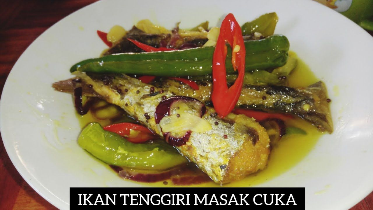 Resipi Ikan Tenggiri Masak Cuka 2 0 Style M A K By Masak Apa Kita Resi Dishes Food Chicken