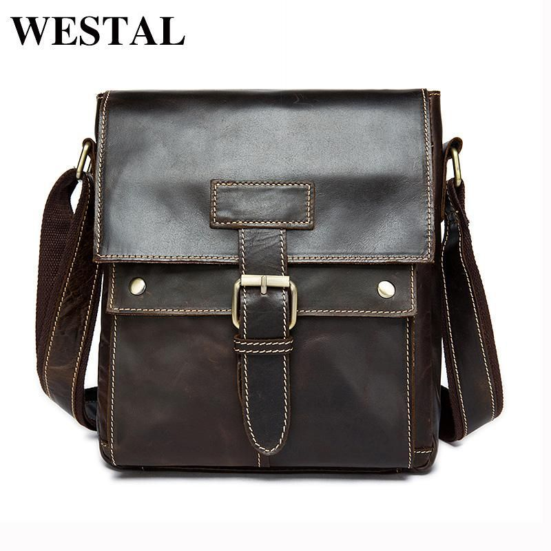 JESPER Casual Canvas Unbalance Backpack Crossbody Shoulder Bag Chest Bag Coffee