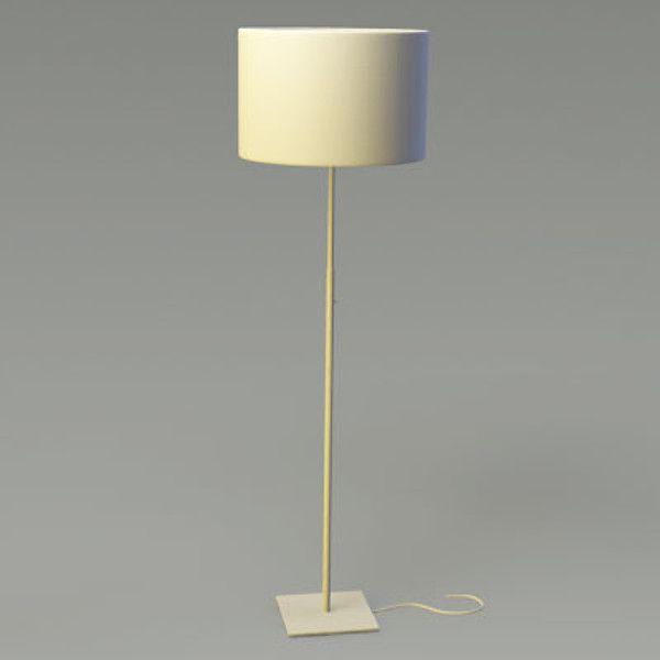 3d ikea floor lamp 01 lamp floor alang lxo by p micah23