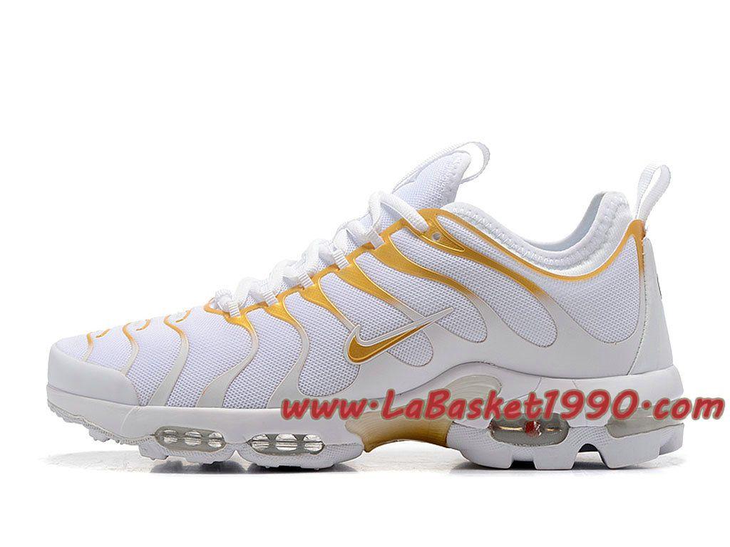 Nike Air Max Plus (Nike TN) ID 903827_A006 Blanc Or