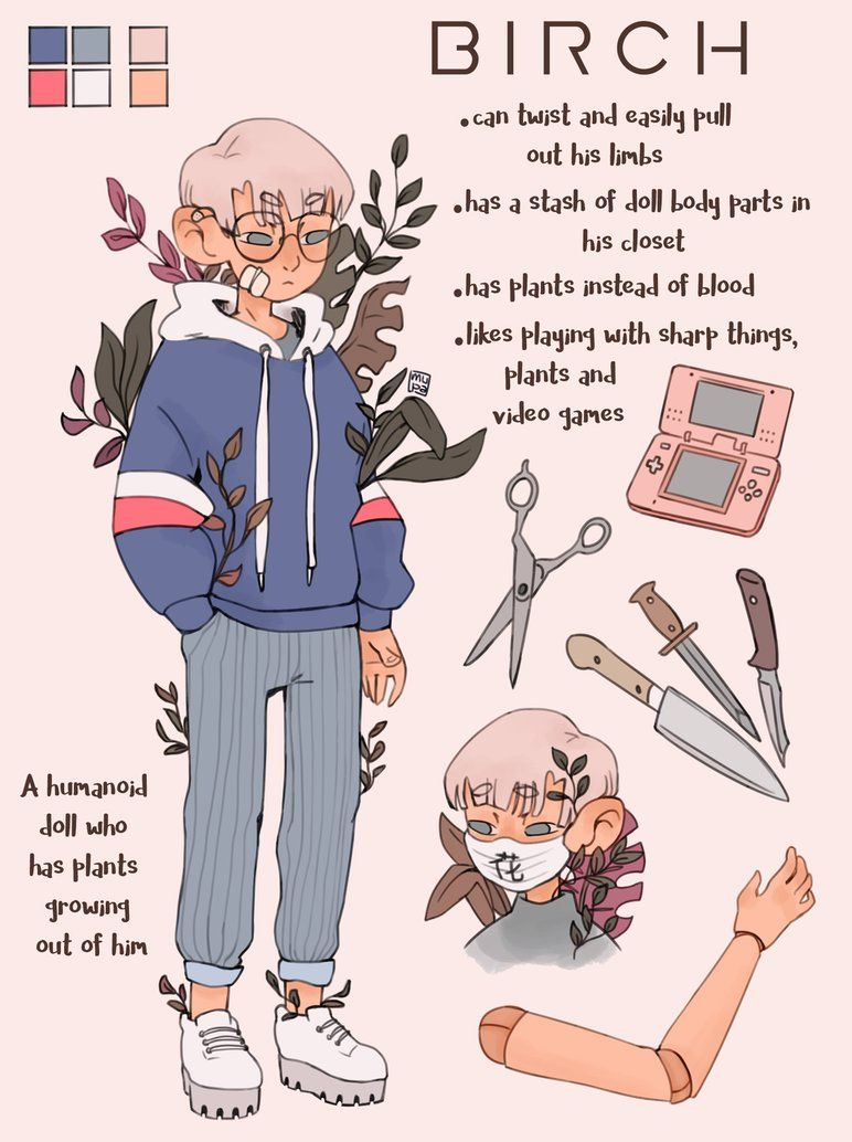 Birch Reference Sheet Commission By Mupaa Cute Art Styles