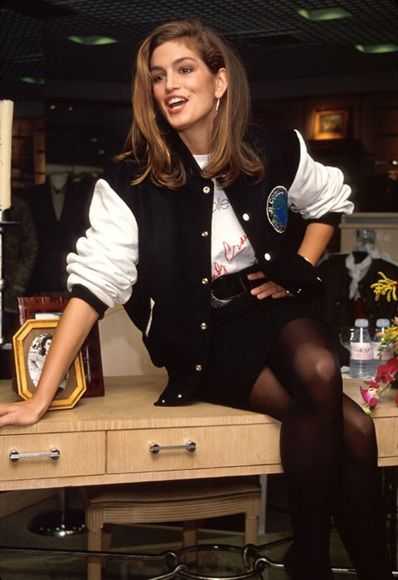 Cindy Crawford S 90s Jackets Are Aw14 Heaven Style