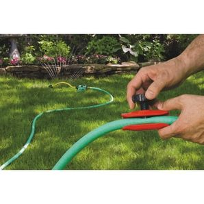 Place This Mark S Choice Garden Hose Flow Restrictor Over Your Hose To Adjust Water Pressure Without Having To Go Back To Garden Hose Garden Yard Maintenance