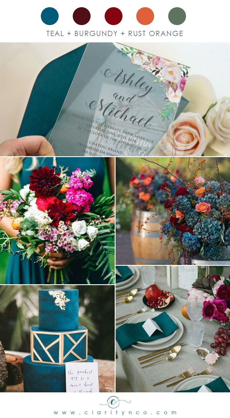 Floral wedding invitations clarity co in 2020 floral