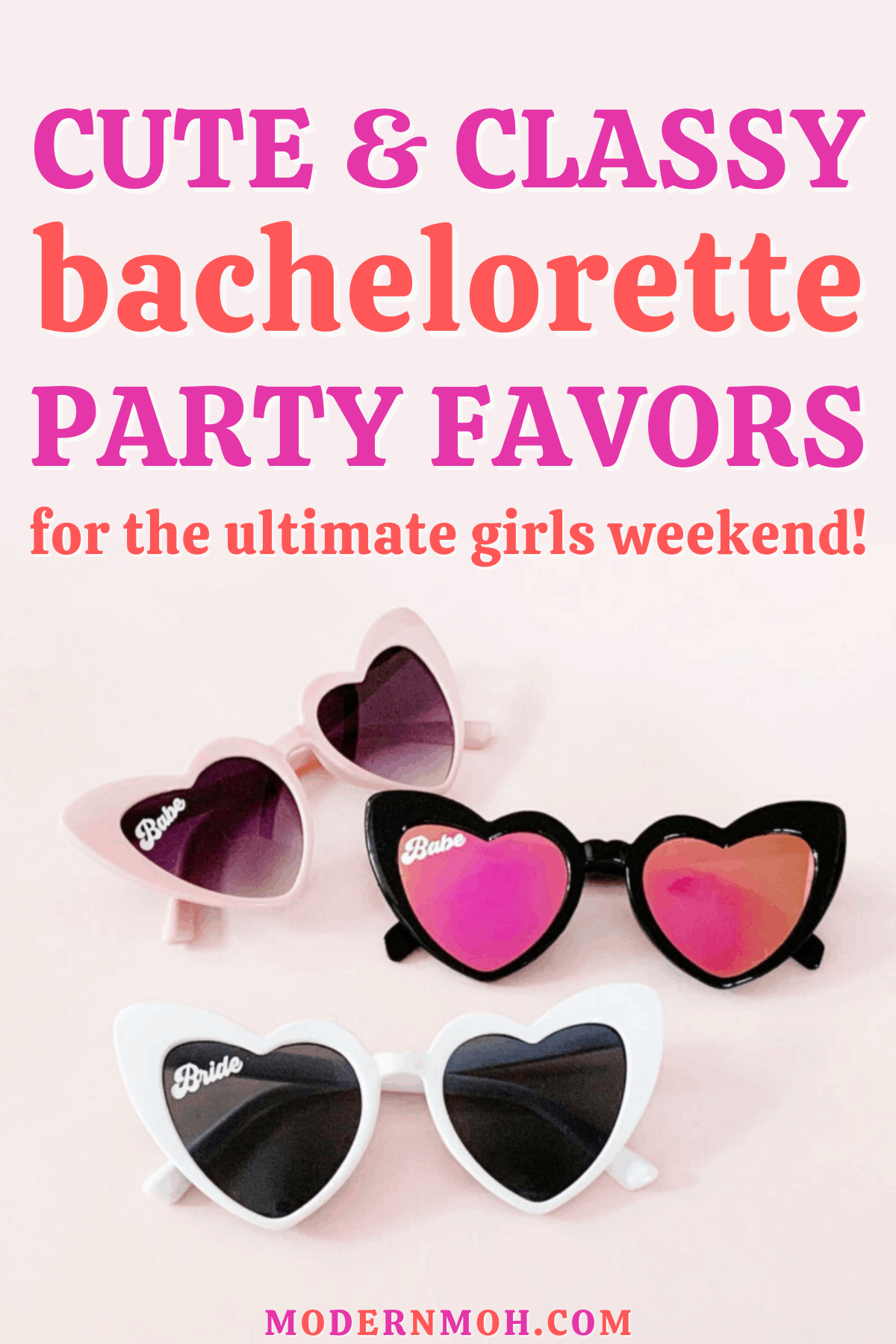 10 Bachelorette Party Favors for Your Girls Weekend in