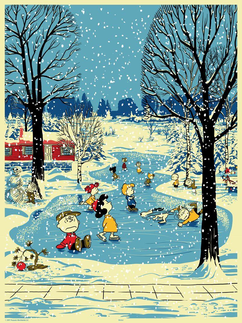 Snoopy loves winter!